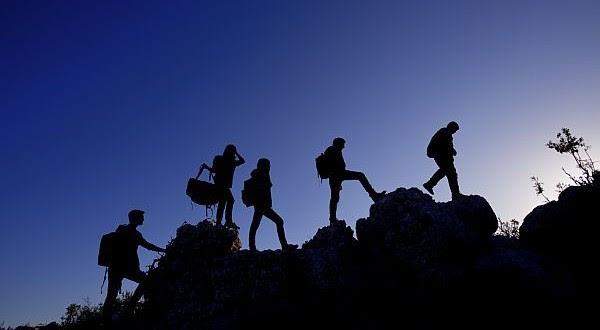 als groep een top bereiken